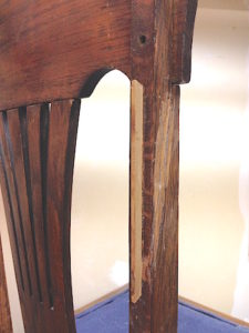 Chair repair spline