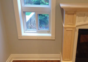 Window trim before window sills