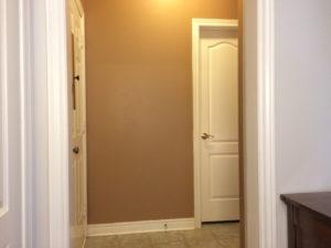 Hallway before wainscoting