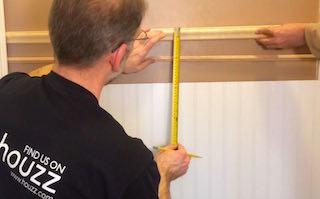 Measure Wainscoting Height