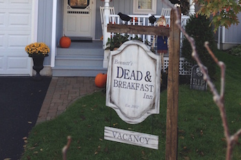 Fun Halloween Yard Sign
