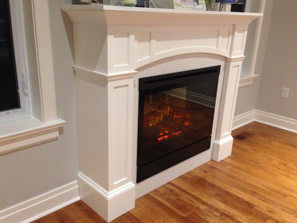 fireplace mantel woodworking plans