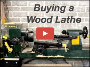 How to buy a wood lathe YouTube video